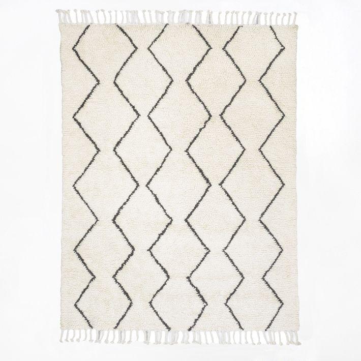 High Quality West Elm Souk Wool Rug