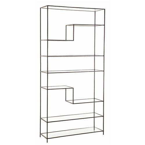 Zinc Door Arteriors Worchester Bookshelf