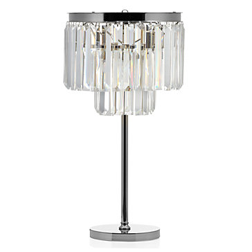Best Z GALLERIE LUXE CRYSTAL TABLE LAMP