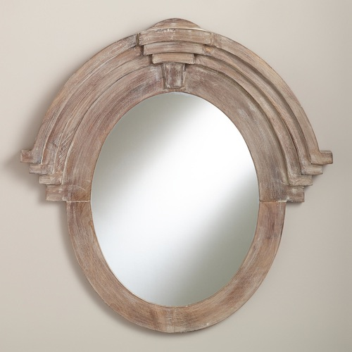 COST PLUS WORLD MARKET MADDOX MANSARD MIRROR