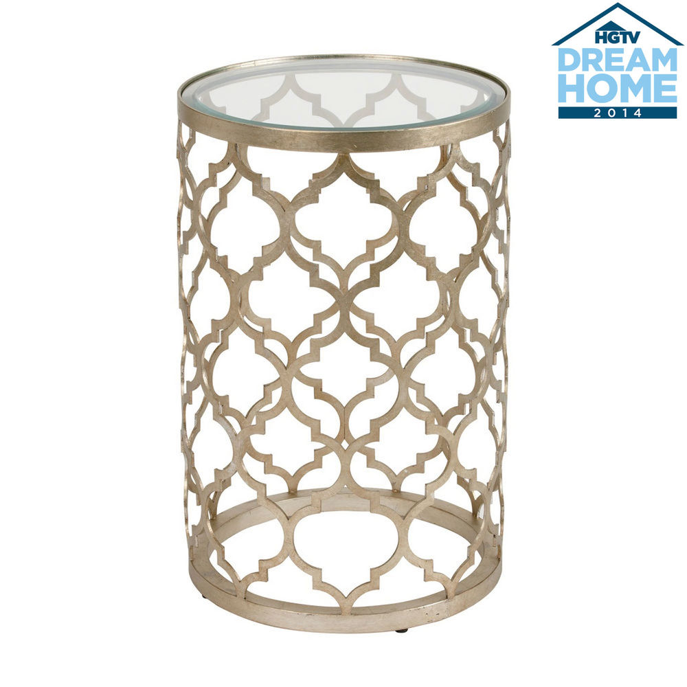 Ethan Allen Tracery Accent Table