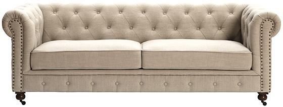 Restoration Hardware Kensington Upholstered Sofa 3 390 Home Decorators Gordon Tufted
