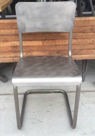 Restoration Hardware Metal Schoolhouse Chair Copycatchic