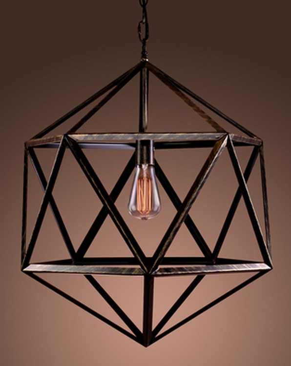 OVERSTOCK WAREHOUSE OF TIFFANY'S CAGED CHANDELIER
