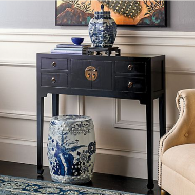 Gump's Mandarin Console Table