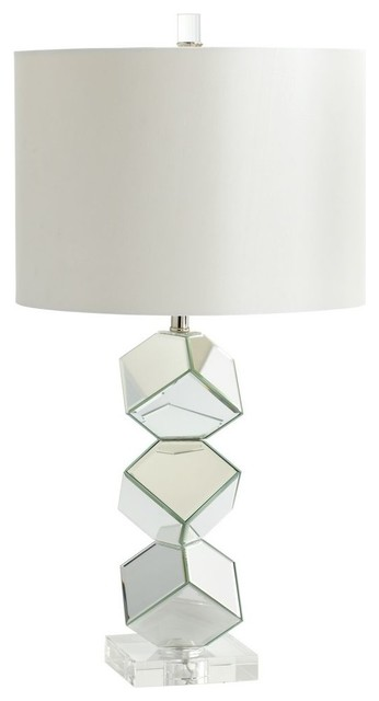 Zinc Door Illusion Table Lamp
