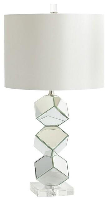 Zinc Door Illusion Table Lamp Copycatchic