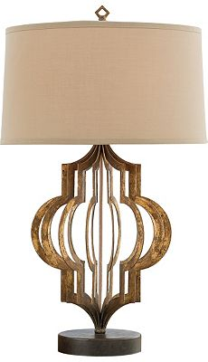 HAVERTY'S PATTERN MAKER TABLE LAMP