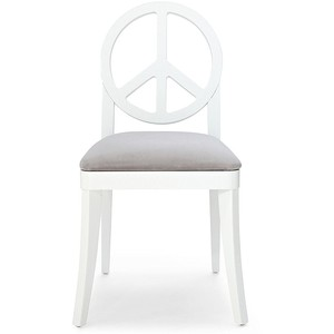 HAPPY CHIC BY JONATHAN ADLER CRESCENT HEIGHTS PEACE CHAIR