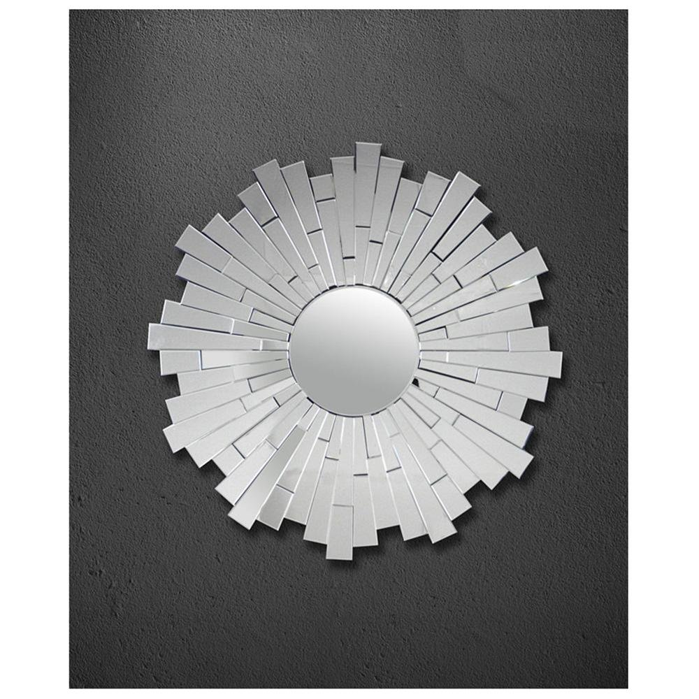 Zinc door burst mirror copycatchic overstock abbyson living empire round wall mirror amipublicfo Choice Image