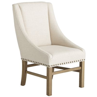 Restoration Hardware Nailhead Upholstered Chair - copycatchic