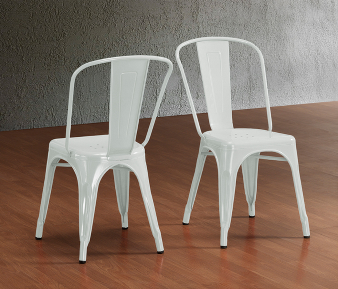 Cafe tables and chairs png - Overstock Tabouret Bistro Steel Side Chairs Set Of 2
