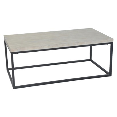 TARGET THRESHOLD™ MIXED METAL COFFEE TABLE