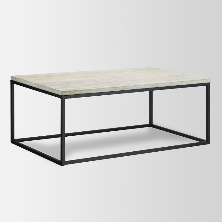 West Elm Box Frame Coffee Table - copycatchic