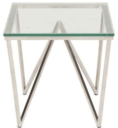 HIGH FASHION HOME ORIGAMI SIDE TABLE