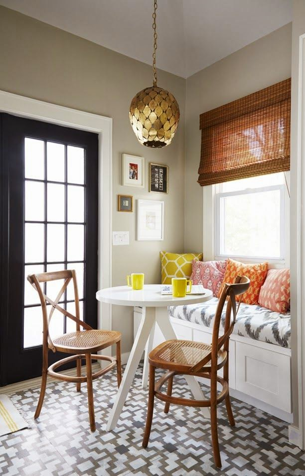 Copycatchic Room Redo | Sunny Breakfast Nook