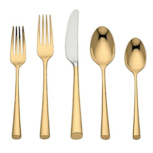 Bloomingdale's Marchesa by Lenox Imperial Caviar Flatware