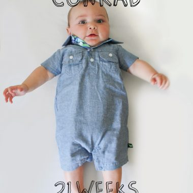 Conrad Weekly | 21 Weeks and Happy Easter