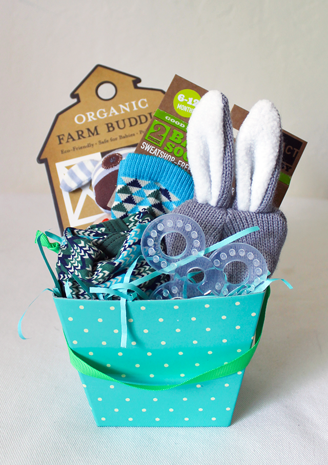 Conrad weekly 21 weeks and happy easter copycatchic ardens easter basket was much much easier negle Choice Image
