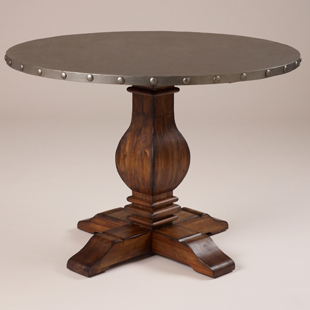 Best Cost Plus World Market Cooper Round Dining Table