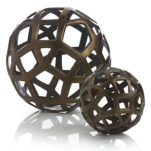 Crate and Barrel Geo Balls