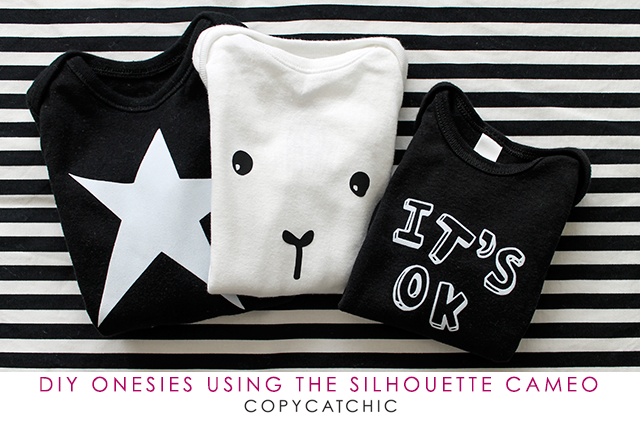 Easy DIY Onesie's with Silhouette
