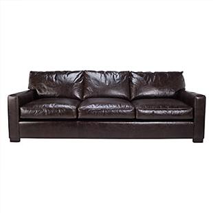 restoration hardware maxwell leather sofa copy cat chic