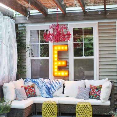 Copy Cat Chic Room Redo | Breezy Back Patio