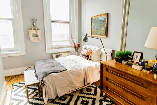 Copy Cat Chic Redo | Mid-Century Bedroom - copycatchic