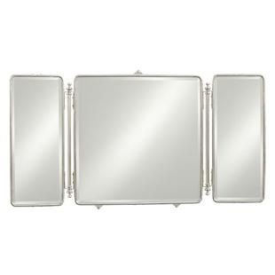 Waterworks Daphne Metal Rectangular Trifold Mirror Copycatchic