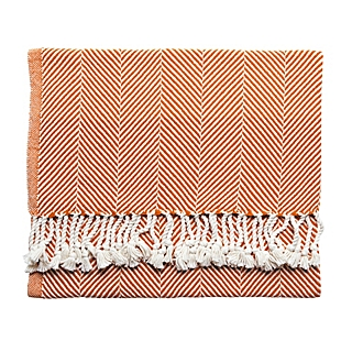 SERENA & LILY BRAHAMS  MOUNT HERRINGBONE THROW