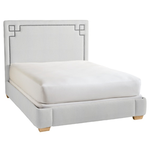Serena & Lily Octavia Bed With Nailheads