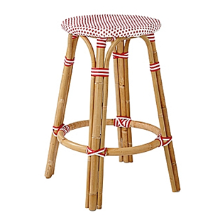 Serena & Lily Riviera Backless Stool