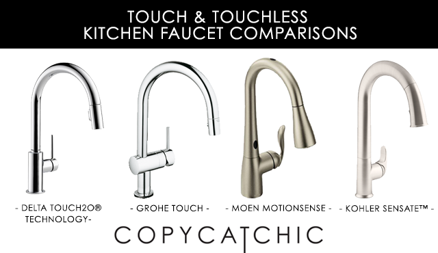 ... Grohe Minta Touch Kitchen Faucet, Moen Arbor MotionSense Kitchen Faucet  And A Delta Trinsic Faucet With Touch2O®. In My Humble Opinion, The Delta  Faucet ...