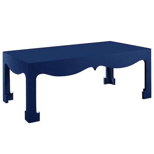 Layla Grace Bungalow 5 Jacqui Navy Coffee Table