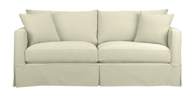 Superbe Crate And Barrel Willow Sofa