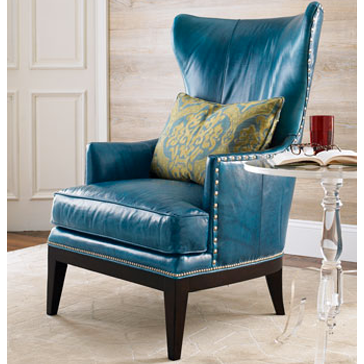 Horchow Donovan Wing Chair