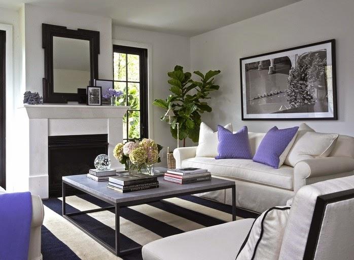 Copy Cat Chic Room Redo | Black U0026 White Living Room