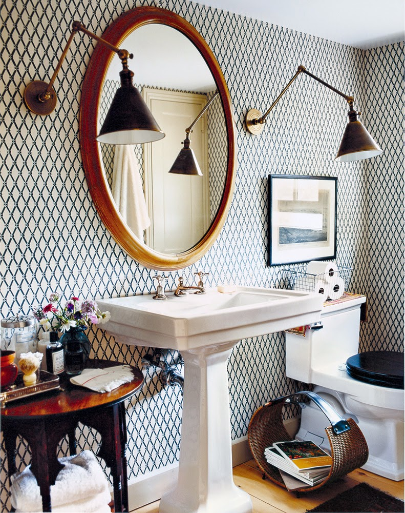Copy Cat Chic Room Redo Eclectic Bathroom Copycatchic