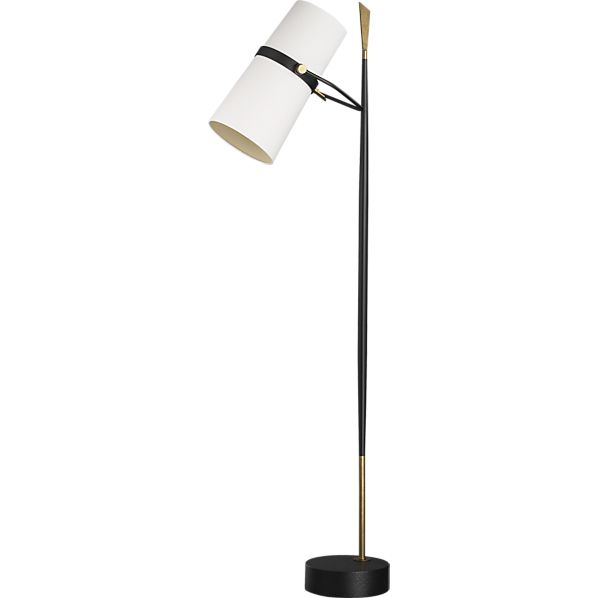 Crate and Barrel Riston Floor Lamp