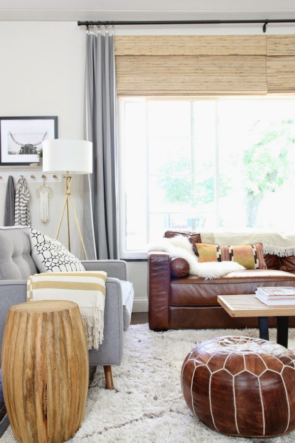 this room perfectly mixes different materials and styles to create a  space the owners love to come home to  I can t source that gorgeous window  for you   Copy Cat Chic Room Redo   Cozy Living Room   copycatchic. Redo Living Room. Home Design Ideas