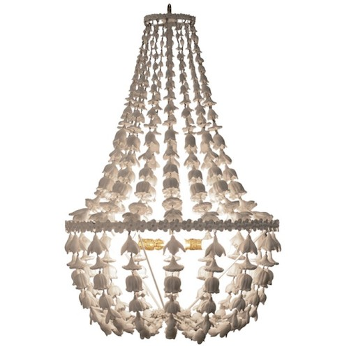 Layla Grayce Oly Studio Flower Drop Chandelier