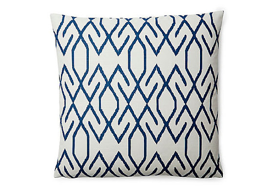 Grace and London Maison Navy Zoe Pillow Cover