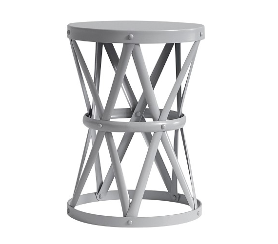 Pottery Barn Kids Jordan Metal Side Table Copy Cat Chic