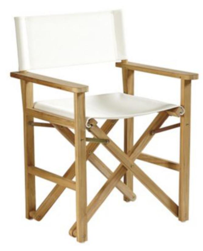 Ballard Designs Suzanne Kasler Campaign Chair