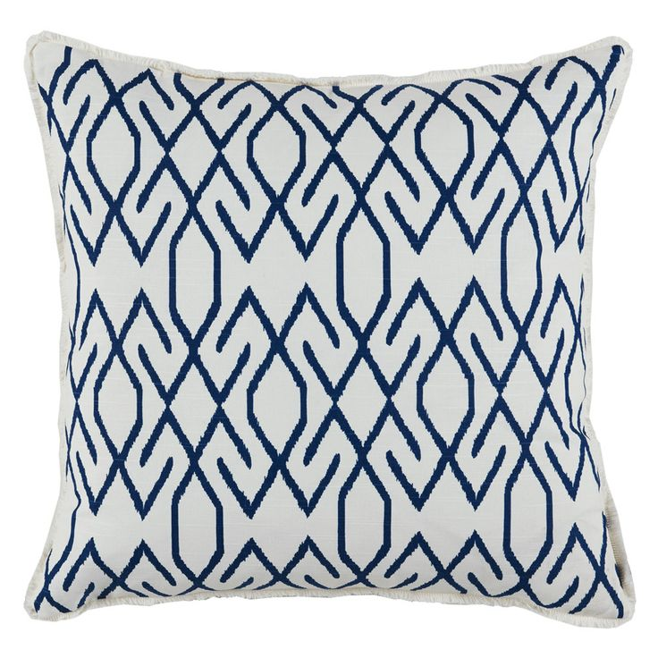 Lacefield Designs Zoe Navy Pillow