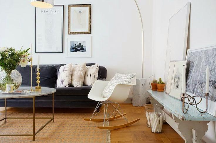 copy cat chic room redo scandinavian living room