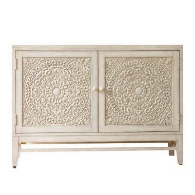 Hooker Furniture Melange Lacy Carved Front Matisette Chest