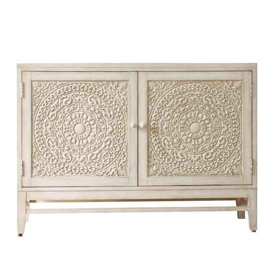 Hooker Furniture Melange Lacy Carved Front Matisette Chest