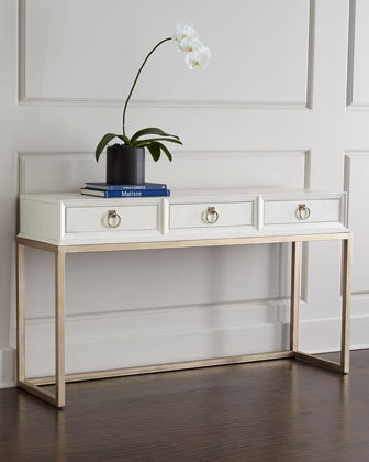 Horchow Daisy Console Copy Cat Chic